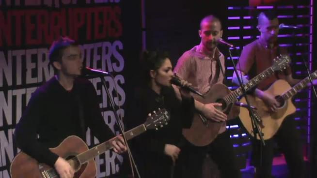 Watch the Interrupters perform in the Lounge