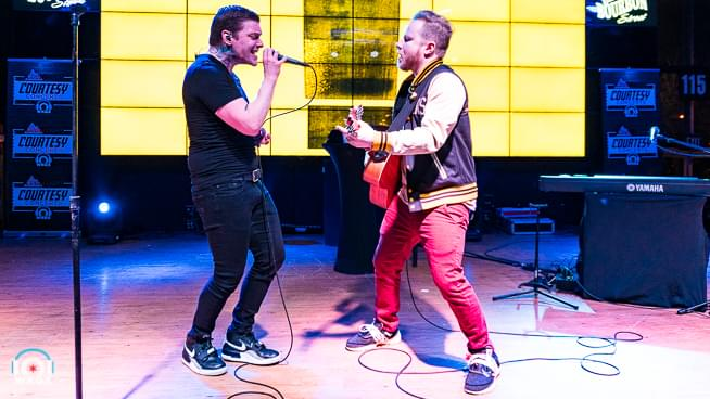 Smith and Myers of Shinedown — Courtesy Concert