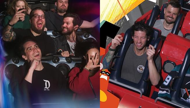 Brendon Urie and Joshua Dun went to Disneyland together