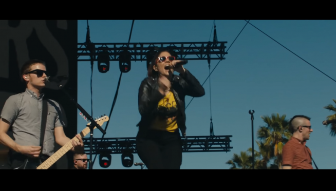 Watch The Interrupters bring punk rock to Coachella.