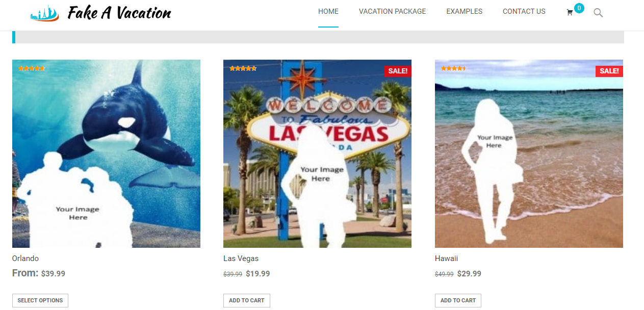 No budget to travel? Now you can fake a vacation for social media