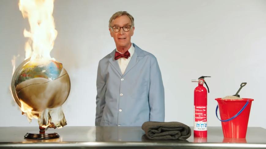 Bill Nye's fiery message