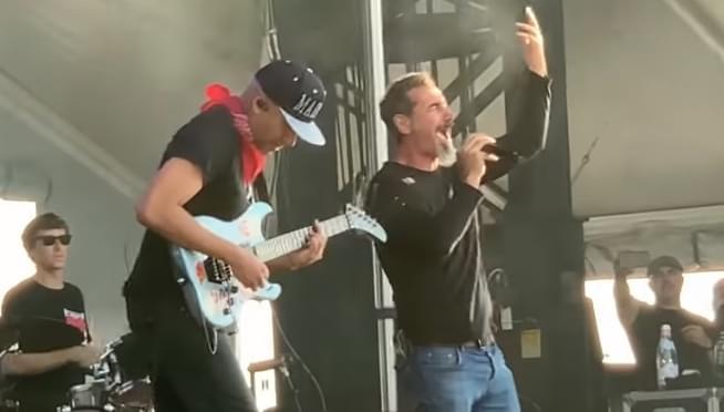 Tom Morello and Serj Tankian pay tribute to Chris Cornell