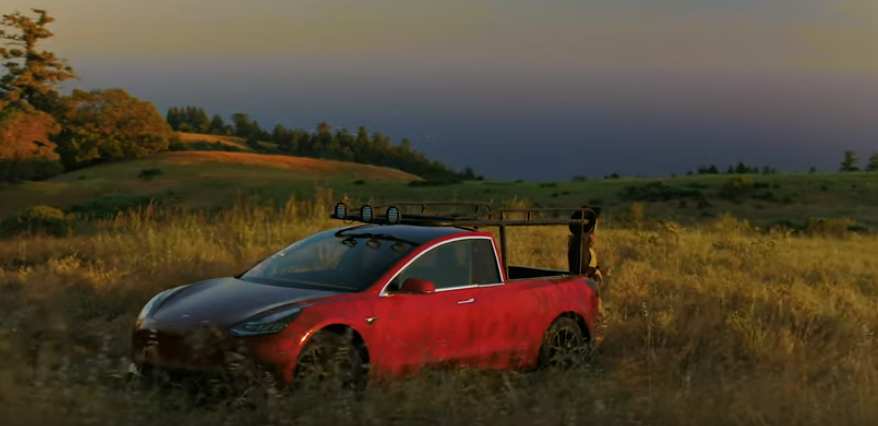 This Youtuber build the world's first Tesla pickup truck, Truckla