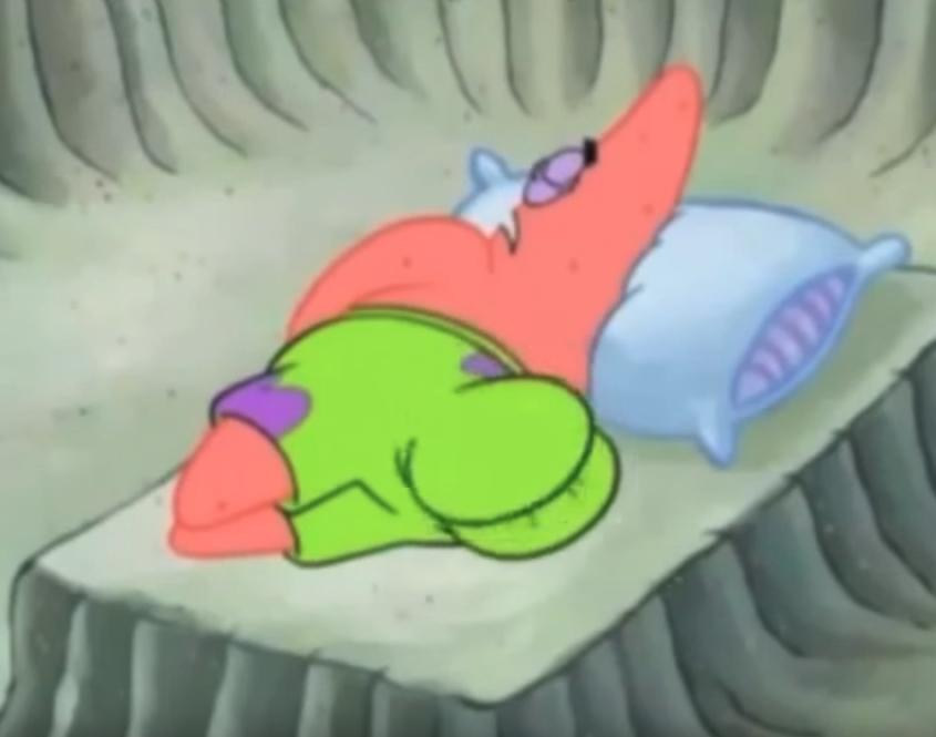 Looks like Patrick Star has some nice buns