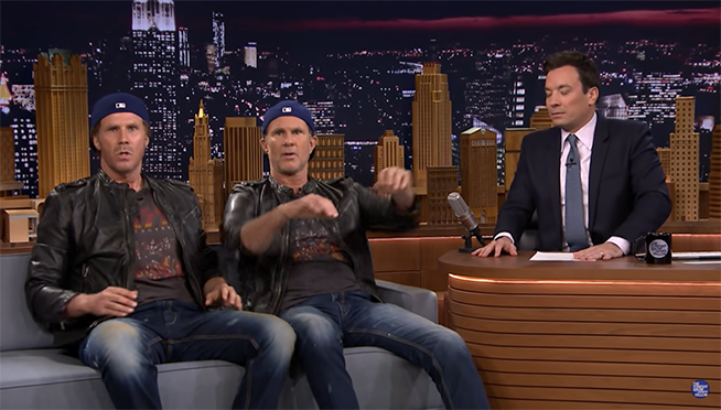 Remember this EPIC drum battle between Will Ferrell & RHCP's Chad Smith?