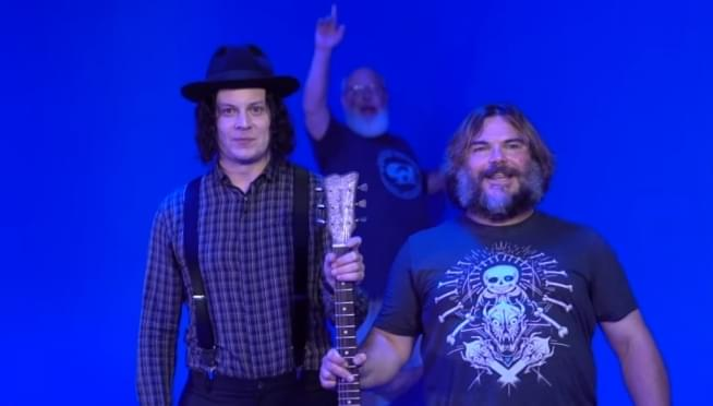 Jack Black and Jack White together at last