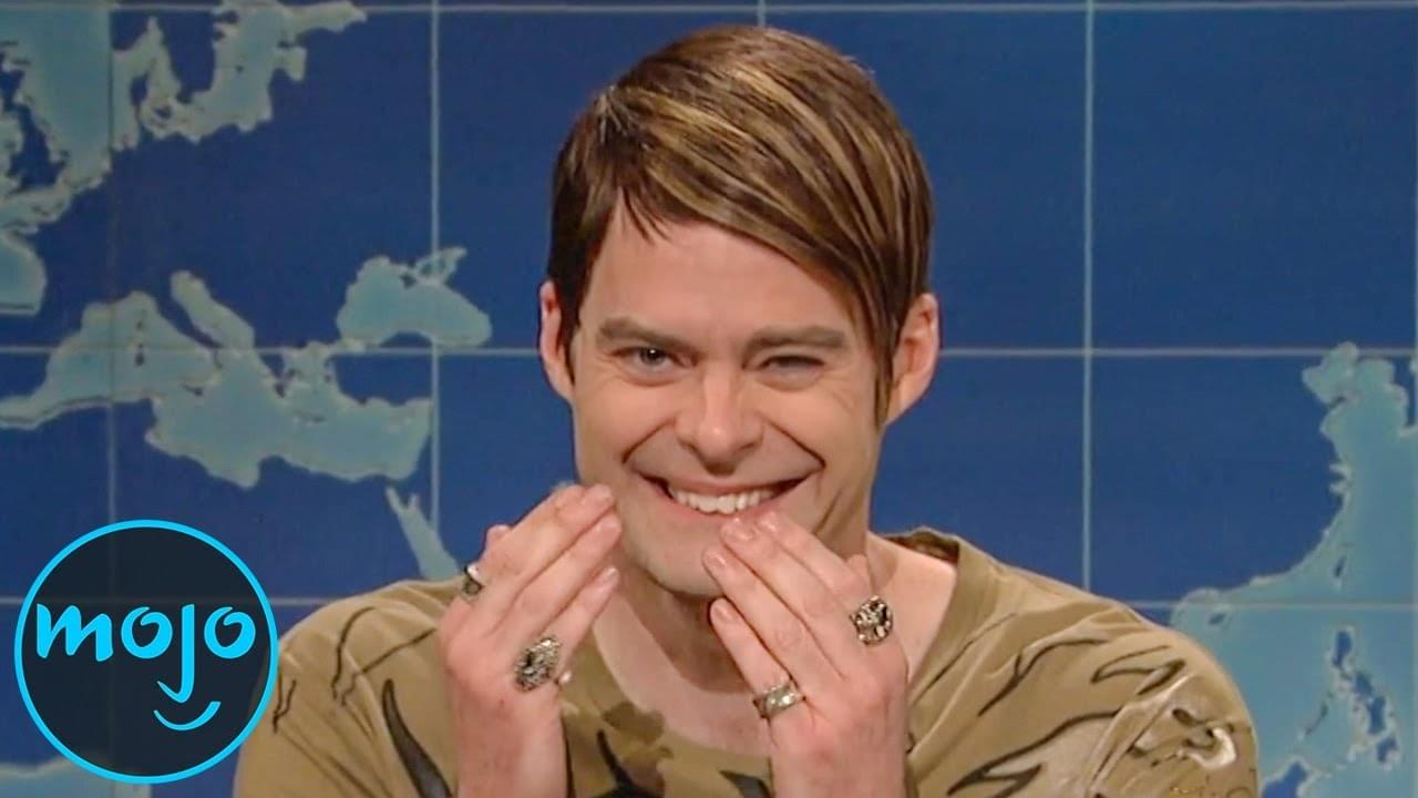 Best breaking character moments on SNL