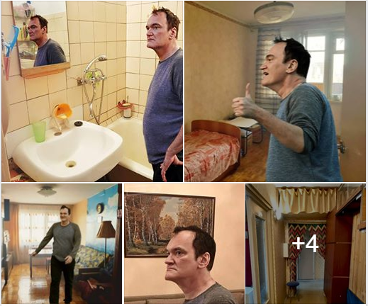 Russian man uses Quentin Tarantino to up-sell his apartment