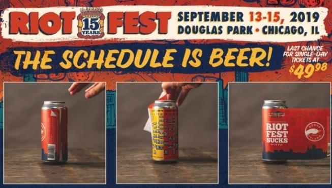 The Riot Fest schedule is here