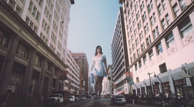 Lana Del Rey is a giant queen in 'Doin' Time' video