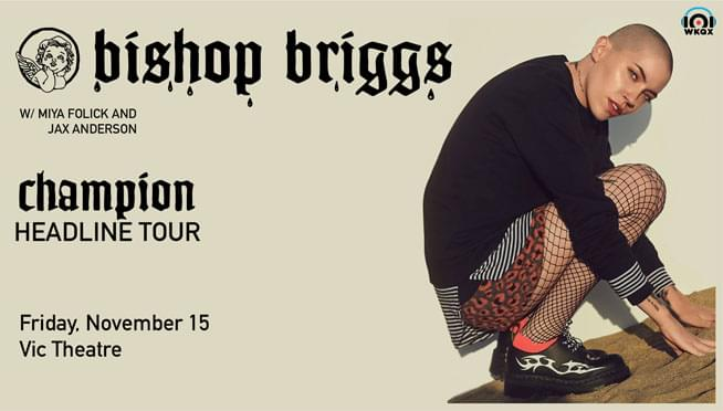Stream new Bishop Briggs 'Jekyll & Hide' & Win Tickets November 15th @ The Vic