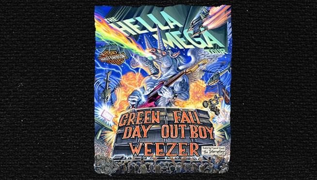 HELLA MEGA TOUR 2020 – Green Day, Fall Out Boy & Weezer
