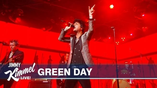 Watch Green Day rock 'Jimmy Kimmel Live' with 'Father of All'
