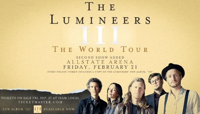 2/21/20 – The Lumineers – Night 1