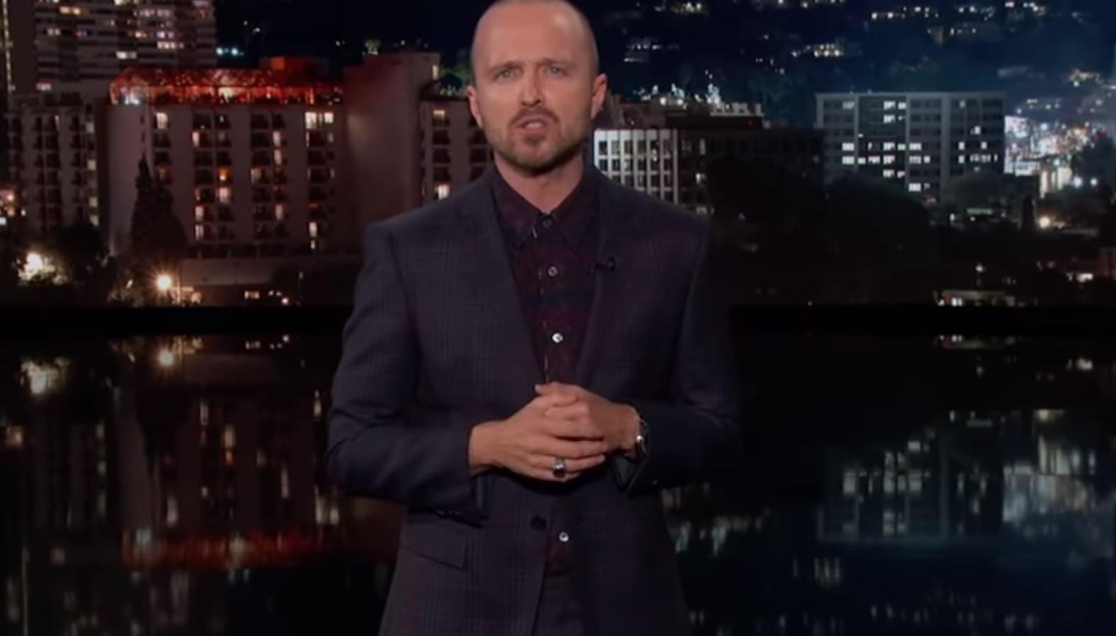 Before 'El Camino': Aaron Paul (Jesse) gives a two minute 'Breaking Bad' recap