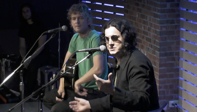 "The Raconteurs on how ""There's not a lot of great rock and roll music out."""