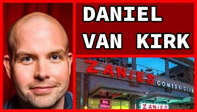 Comedian Daniel Van Kirk talks flea market weapons & more