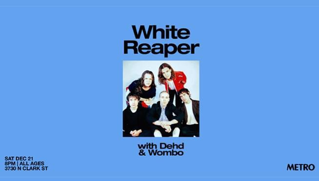 12/21/19 – White Reaper