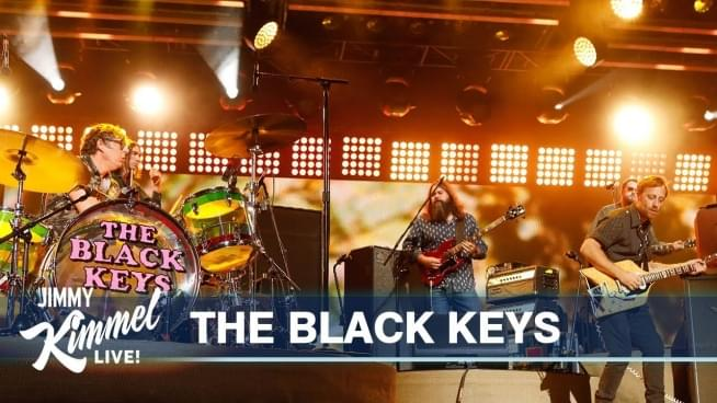 The Black Keys play on Jimmy Kimmel Live