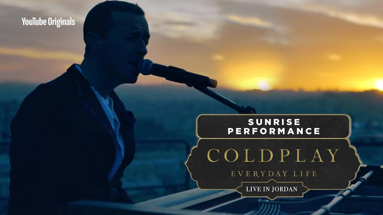 Watch Coldplay perform sunrise and sunset sets in Jordan
