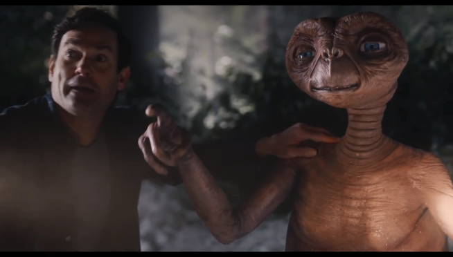 Watch the heartwarming E.T. reunion commercial