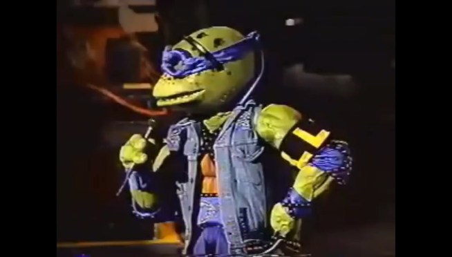 Watch the awful Ninja Turtles rock musical