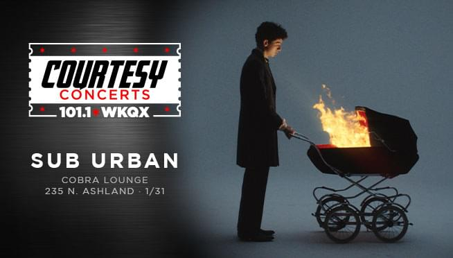 Enter to win Guaranteed Entry for the Sub Urban Courtesy Concert!