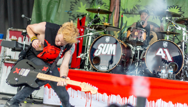 Sum 41 show in Paris cancelled after device detonation.