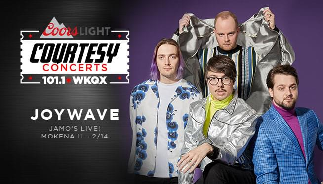 Enter to Win Guaranteed Entry for the Joywave Courtesy Concert!