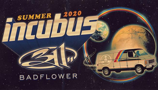8/28/20 – 101WKQX Presents: Incubus with 311