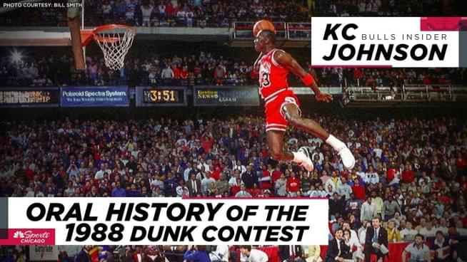 Relive the greatest slam dunk contest ever