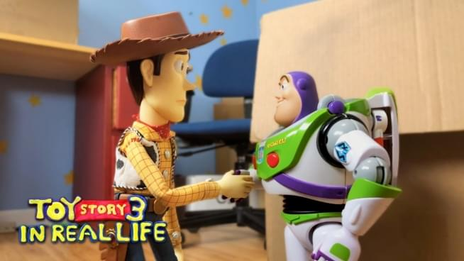 Watch 'Toy Story 3' Stop-motion remake 10 years in the making