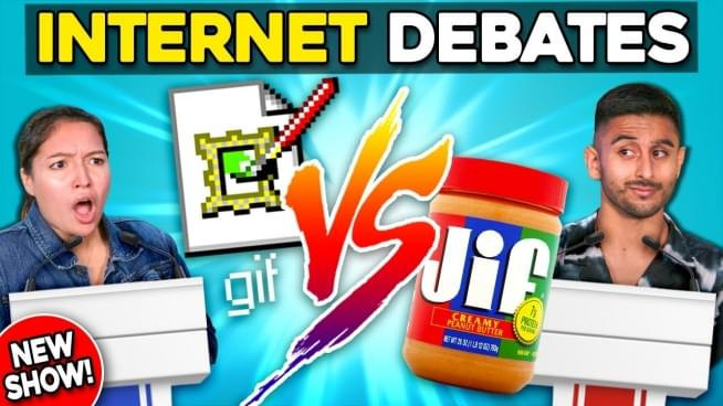 GIF vs JIF now involves peanut butter