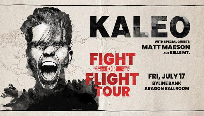 Enter to win tickets to see Kaleo!