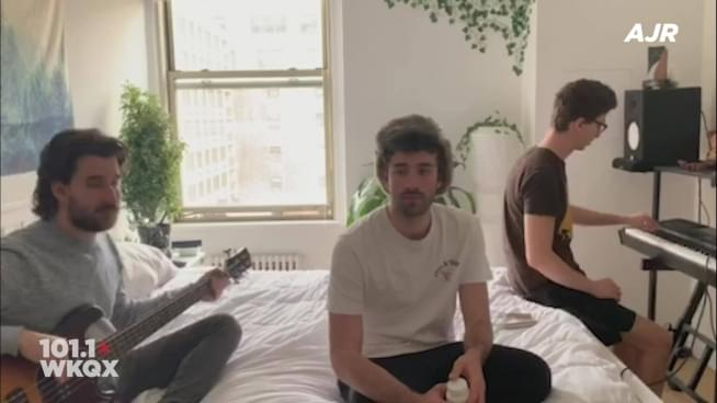 WStayQX: AJR answers your questions & perform 'Bang'