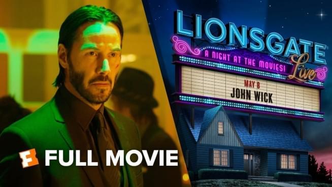 Watch Keanu Reeves host Friday night stream of 'John Wick'