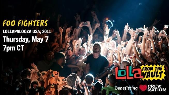 Watch Foo Fighters Lollapalooza 2011 headlining set