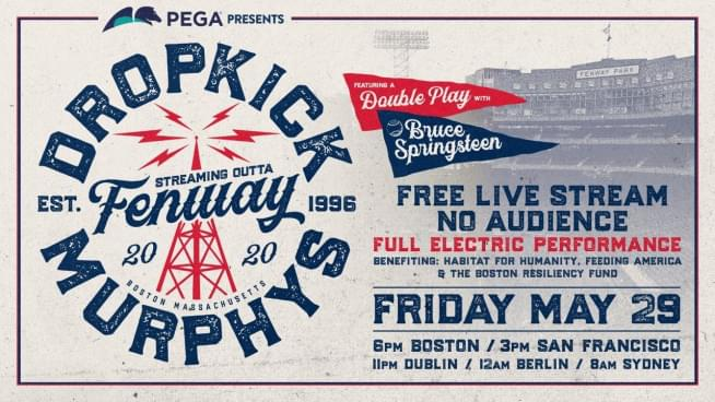 Watch Dropkick Murphys play Fenway Park