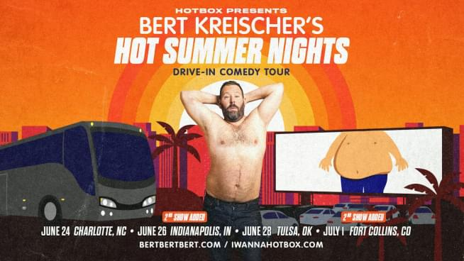 Comedy champ Bert Kreischer touring drive-in theaters