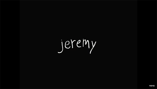 "Pearl Jam releases unedited version of ""Jeremy"" video."