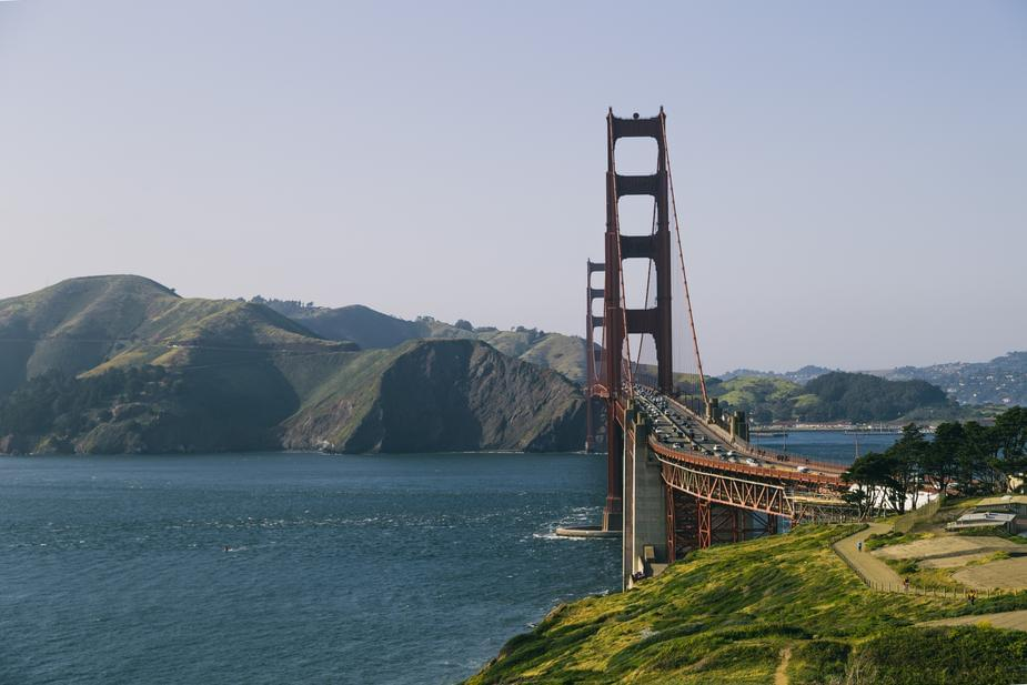 The Golden Gate Bridge makes weird noises now… creepy