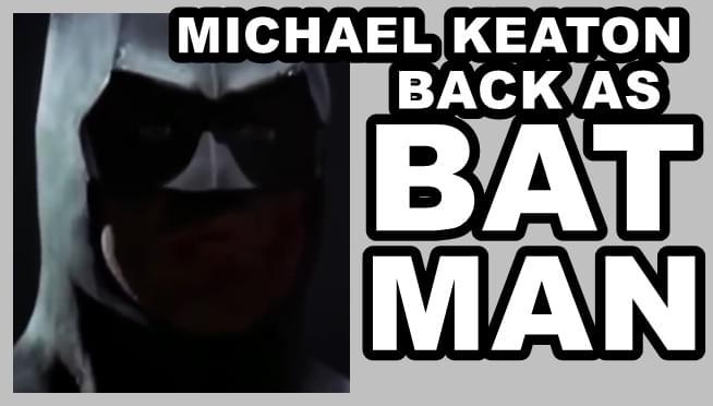 Michael Keaton back as Batman?!