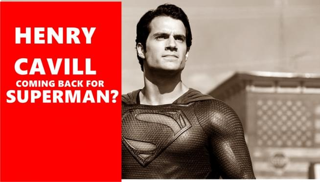 Henry Cavill clears the air on the Superman rumors