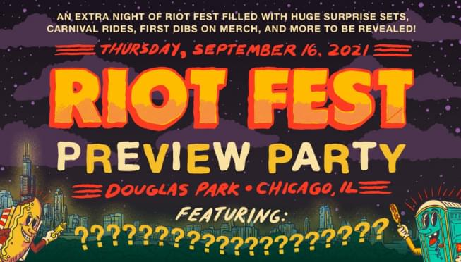 Last day to get in on an extra day of Riot Fest!