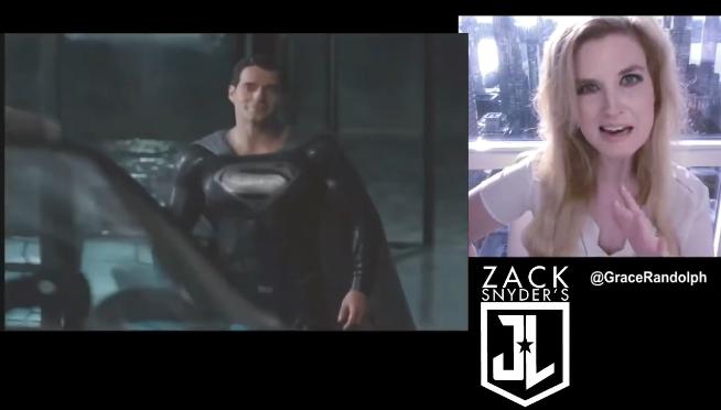 Watch Superman's black suit revealed!