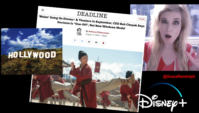 Disney throws curve ball with 'Mulan' movie release