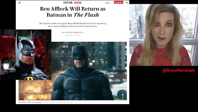 Batfleck returns! Ben Affleck returning to play Batman & more