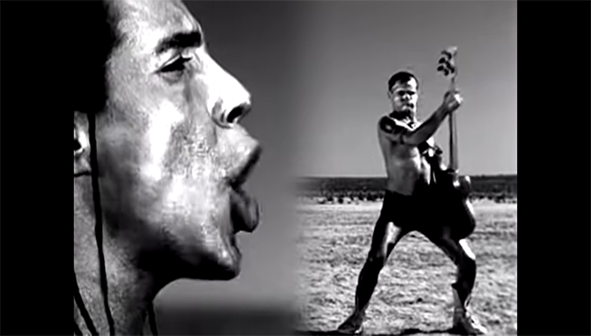 The (un)definitive Top 10 list of Red Hot Chili Peppers music vids.