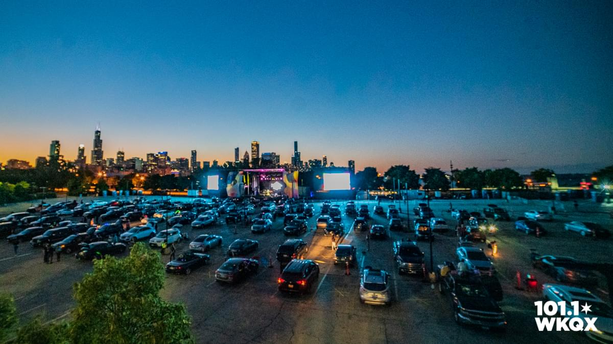 Two Feet with Manwolves at Lakeshore Drive-In